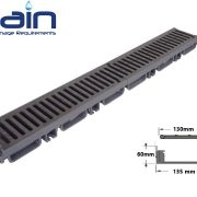 گاتر پلی آمید تقویت شده مدل CAB10PA